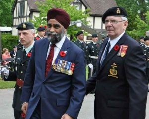 Read more about the article The Last Post Fund annual Commemorative Ceremonies took place on Saturday June 3rd and Sunday June 4th in Montreal. The Minister of National Defence, the Honourable Harjit Sajjan, was the Guest of Honour.