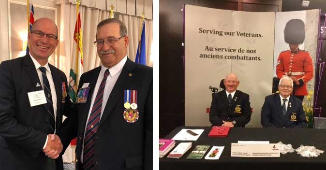 LPF National President and Saskatchewan members attend ANAVETS convention