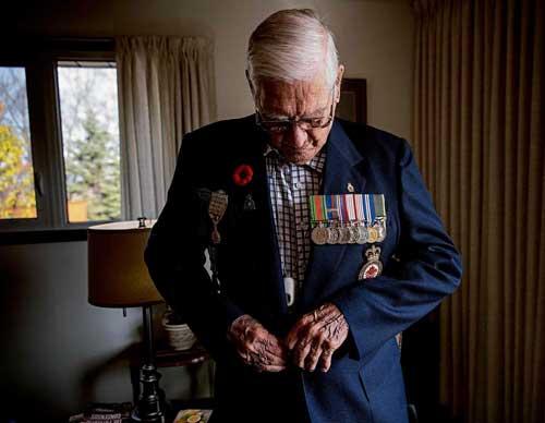 In Memoriam Sergeant Arthur Edward Christensen, Past President of Last Post Fund, Manitoba Branch