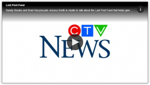 Read more about the article Veterans Affairs Canada Funeral and Burial Program: Randy Brooks and Brad Hrycyna of the Last Post Fund Saskatchewan Branch back on CTV Regina Morning Live