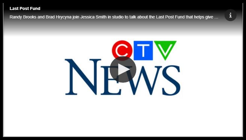 Veterans Affairs Canada Funeral and Burial Program: Randy Brooks and Brad Hrycyna of the Last Post Fund Saskatchewan Branch back on CTV Regina Morning Live