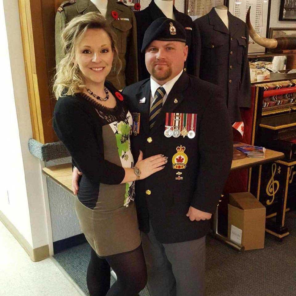 Caporal Kyle Scott (retraité) récipiendaire de la Médaille du souverain pour les bénévoles