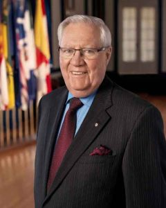 His Honour the Honourable W. Thomas Molloy, lieutenant-governor of Saskatchewan
