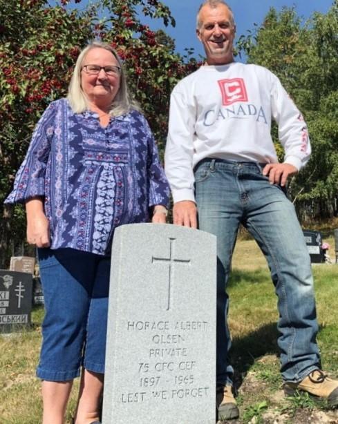 Kenora Great War Project Researchers- Becky Johnson and Judy Stockham