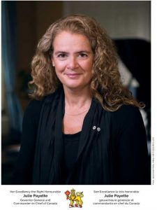 Her Excellency the Right Honourable Julie Payette, has graciously accepted our request to become the Last Post Fund patron