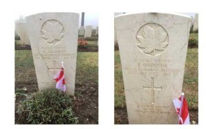 Read more about the article The Last Post Fund members visit Agira Canadian War Cemetery in Sicily