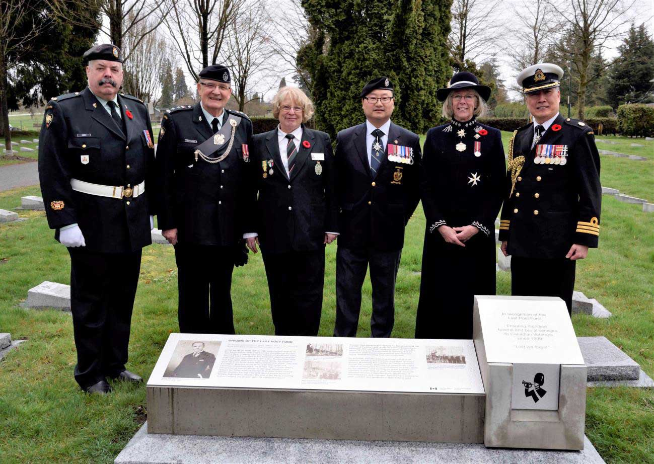LPF participates at the Vancouver Vimy Day Commemoration Event