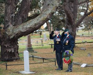 Read more about the article Headstone Unveiling, Victoria BC