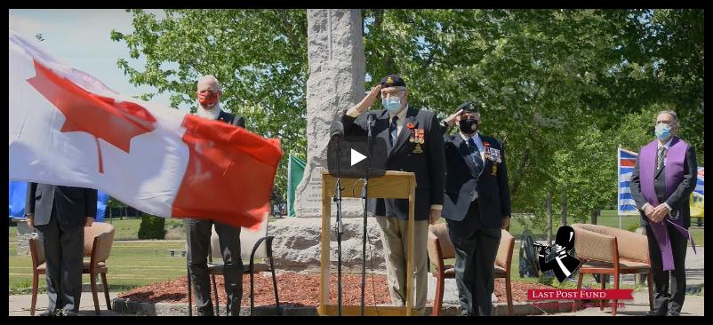 Annual commemorative ceremony June 6, 2021