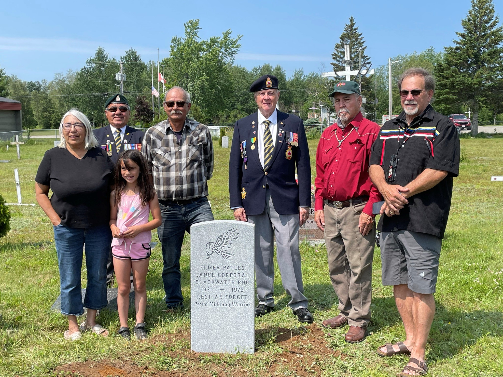 Read more about the article A Recently Placed Grave Marker at Eel Ground First Nations in NB Highlights the Importance of Perseverance